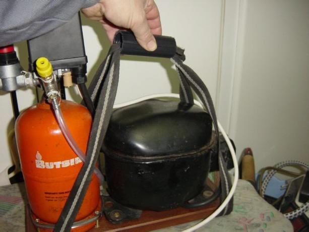 compresor de aire casero. inicio. compresor de aire casero